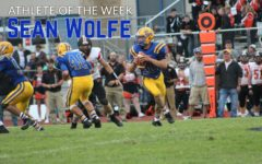 Shawn Wolfe had almost 200 yards of total offense against Tyrone.