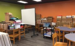 BAMS makerspace under construction