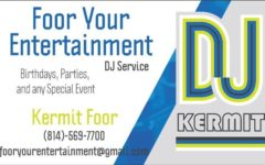 Kermit Foor runs his own DJ business outside of school.