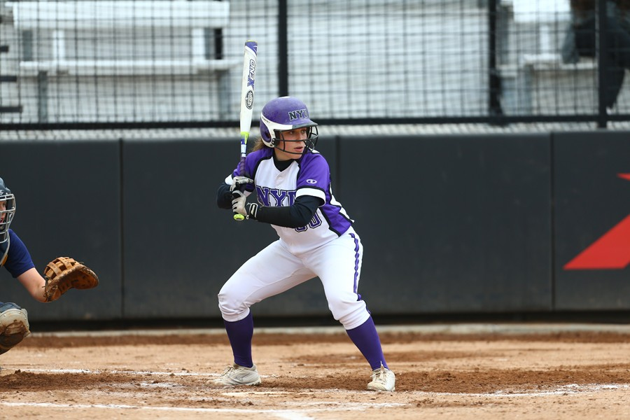 Jacqueline Finn hit over .300 least season playing for NYU.