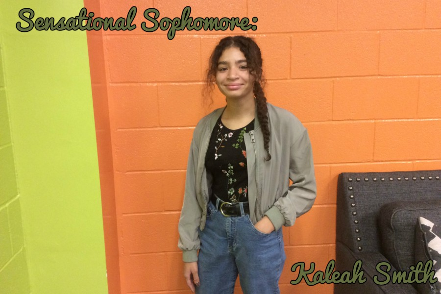 Kaleah Smith wants to be an honor student and have perfect attendance.
