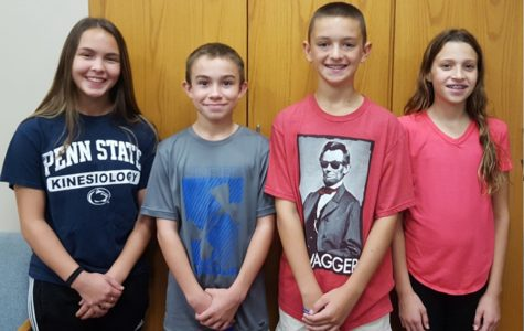 Four New Students of the Week Announced