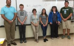 Pictured from left to right: Mr. Hescox (NJHS Advisor), Ethan Brown, Mrs. Taylor (NJHS Advisor), Anna Lovrich, Cynthia Hammel, and Kermit Foor, IV.