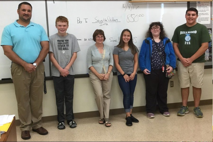 National Junior Honor Society raises money for Save the Children