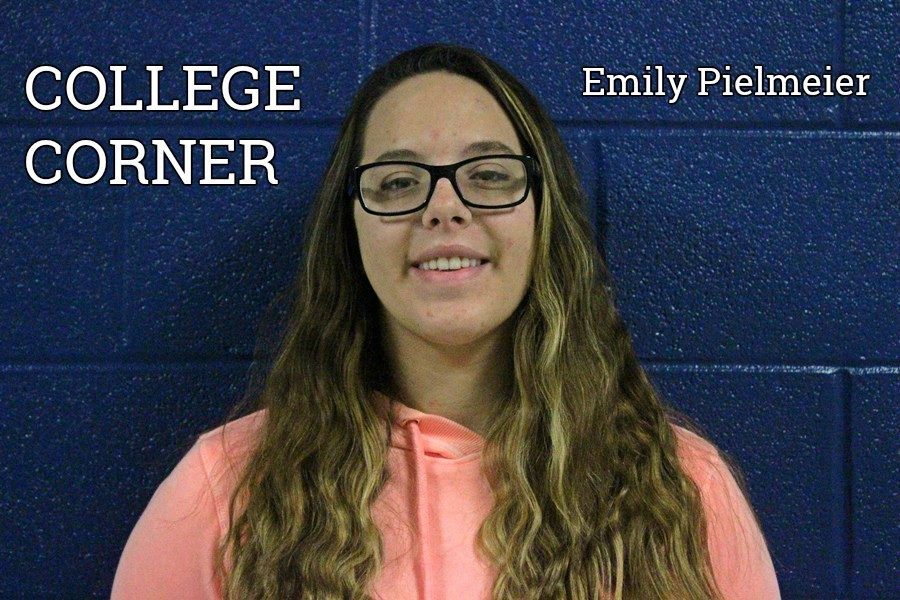 Emily Pilmeir is off to college.