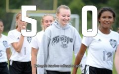Riley D'Angelo netted her 50th goal yesterday against Hollidaysburg.