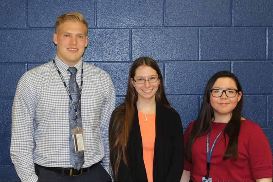 Mr. Nawrocki, Miss Mowery, and Miss Lui are beginning their student teaching experience at Bellwood-Antis.
