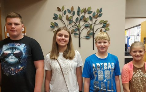 Four new students earn MS recognition