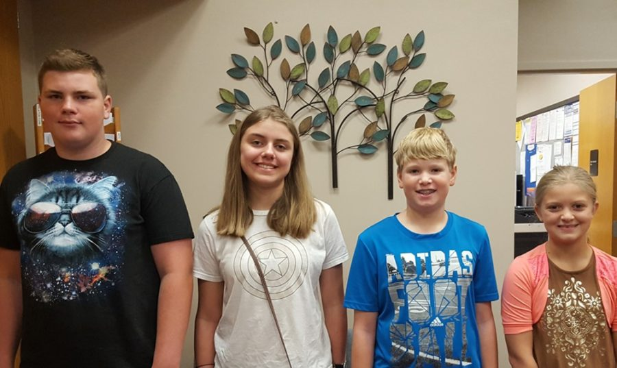 This weeks students of the week include; Nate Jennings, Lucy Wilson, Connor Cobaugh and Gi Gi Juart