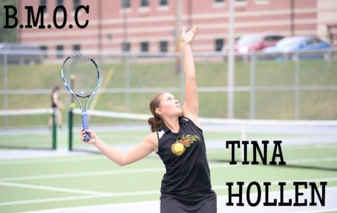 Tina Hollen became a District champion earlier this month, and now she's headed to states.