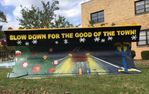Art students prepare for Paint the Plow contest