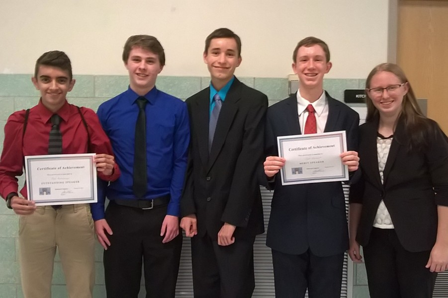 Five students from B-A attended last weeks Student Congress Meet.