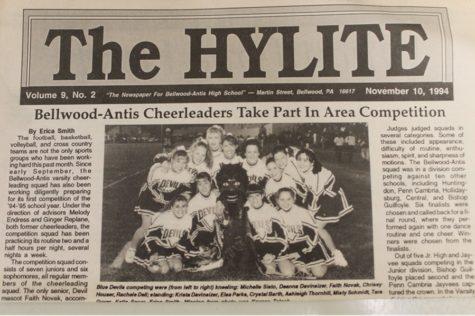 BA HISTORY 101: '94 Cheerleading