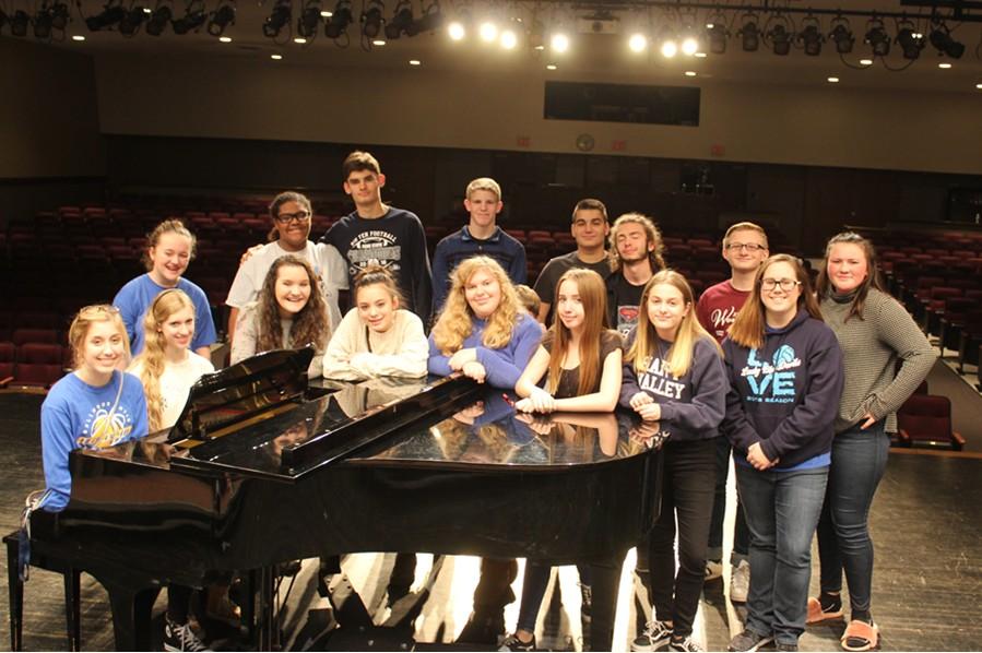 Seventeen singers from Bellwood-Antis are headed to Balir County Chorus next week.