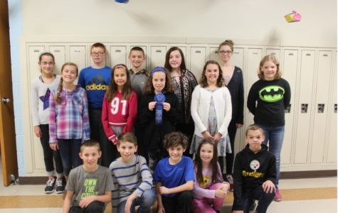 The elementary reading team took home a first place award on Wednesday.