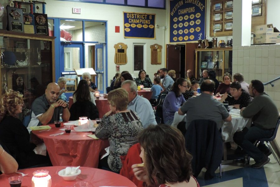 There was a hungry crowd on hand last week for the annual French restaurant.