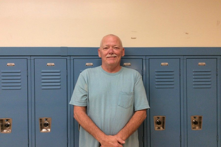 Tom Gority, a custodian at Bellwood-Antis High School, was a member of the Army and the National Guard.