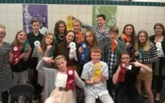 Junior high speech team members place at Indiana