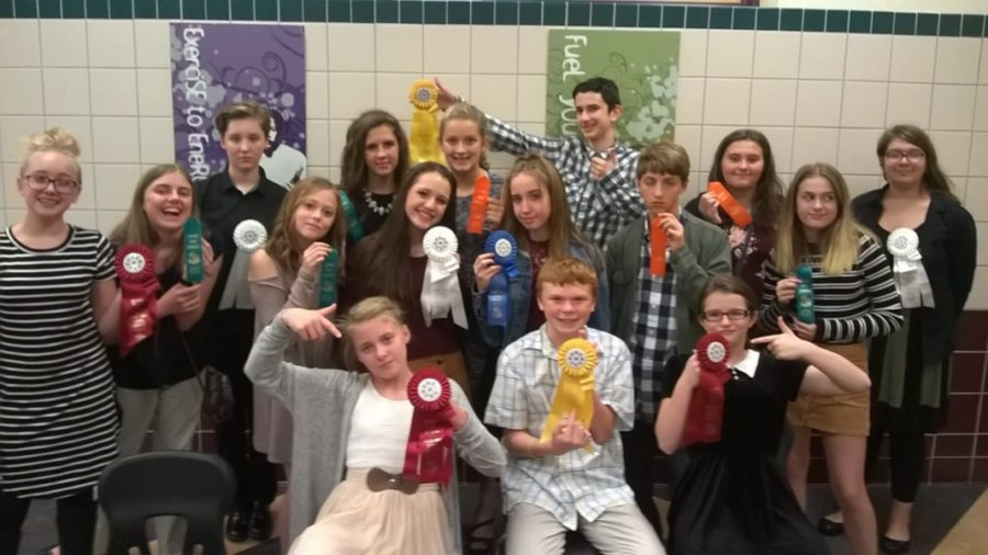 Junior+high+speech+team+members+had+another+strong+showing+at+Indiana.
