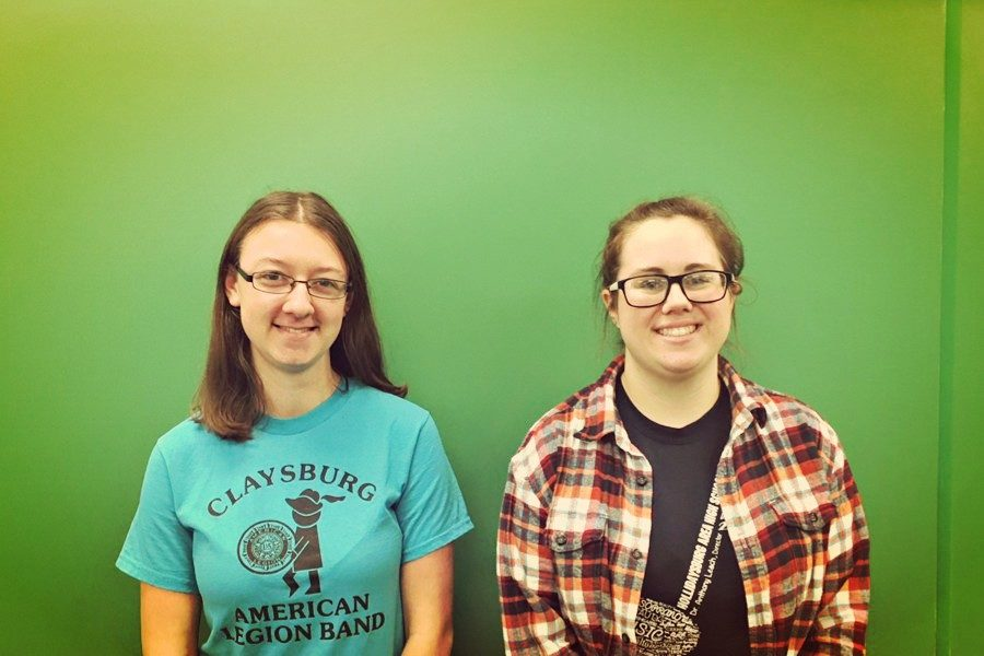 Kaitlyn Farber and Kyra Woomer will be making their third appearances at District band.