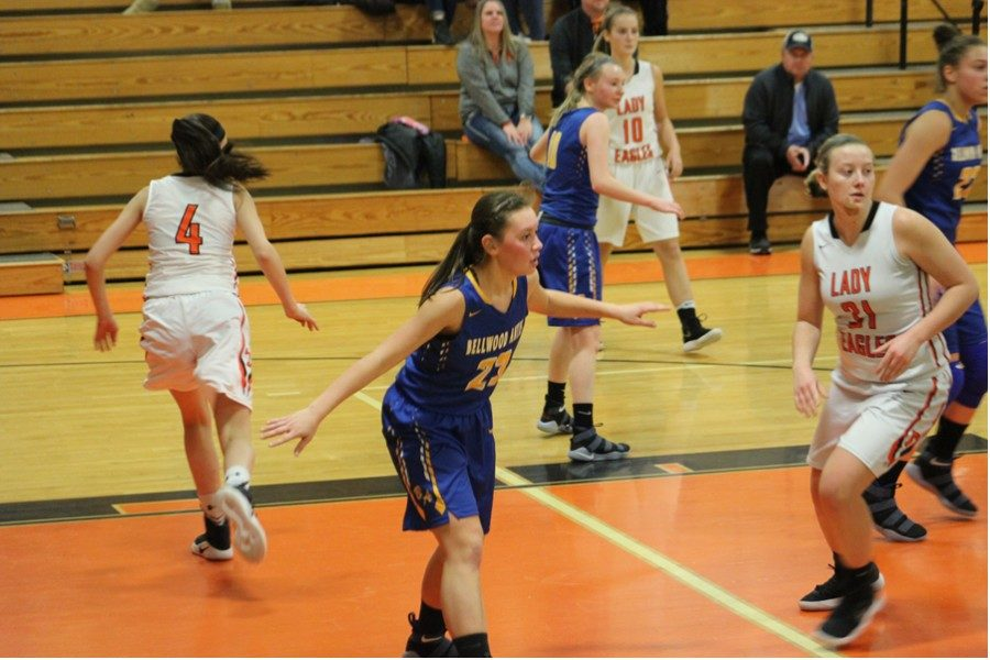 Tina Hollen scored 9 points and played tough defense in BA's win over Tyrone.