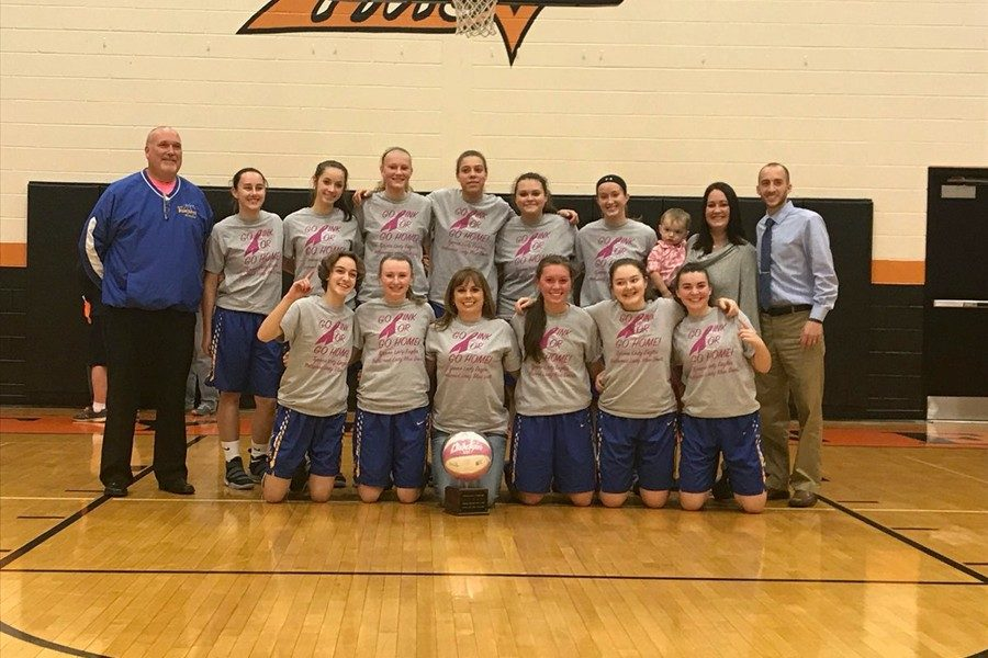 The traveling Pink Game trophy stayed in Bellwood with the Lady Devils big win over Tyrone.