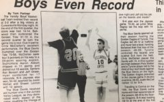 Aaron Abbott and Chris McClellan were the sharpshooters on the basketball team in 1991.