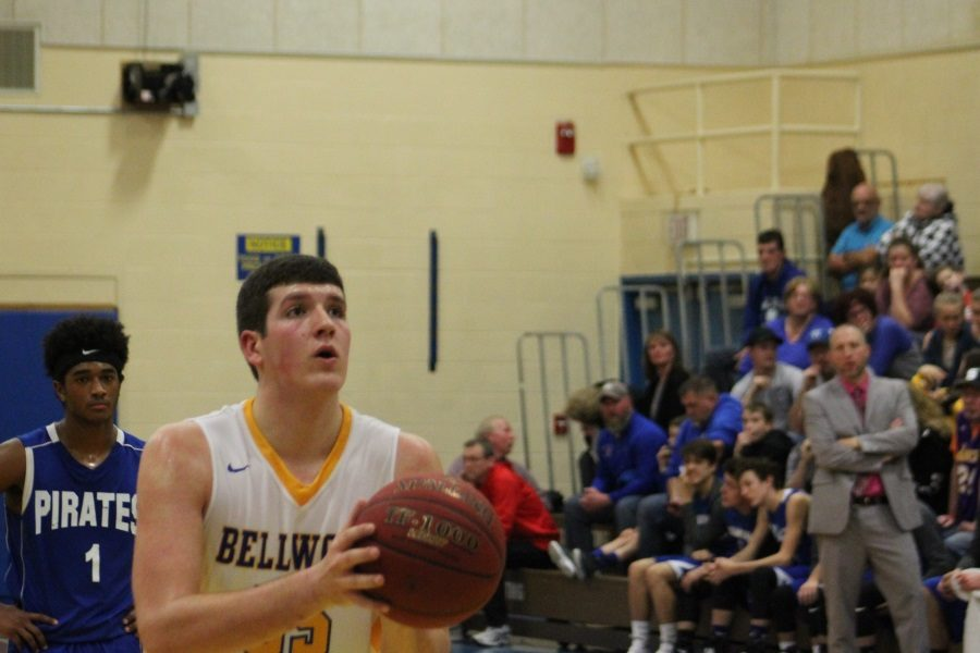 Junior Nate Wolfe had a huge game for the Blue Devils against Williamsburg.