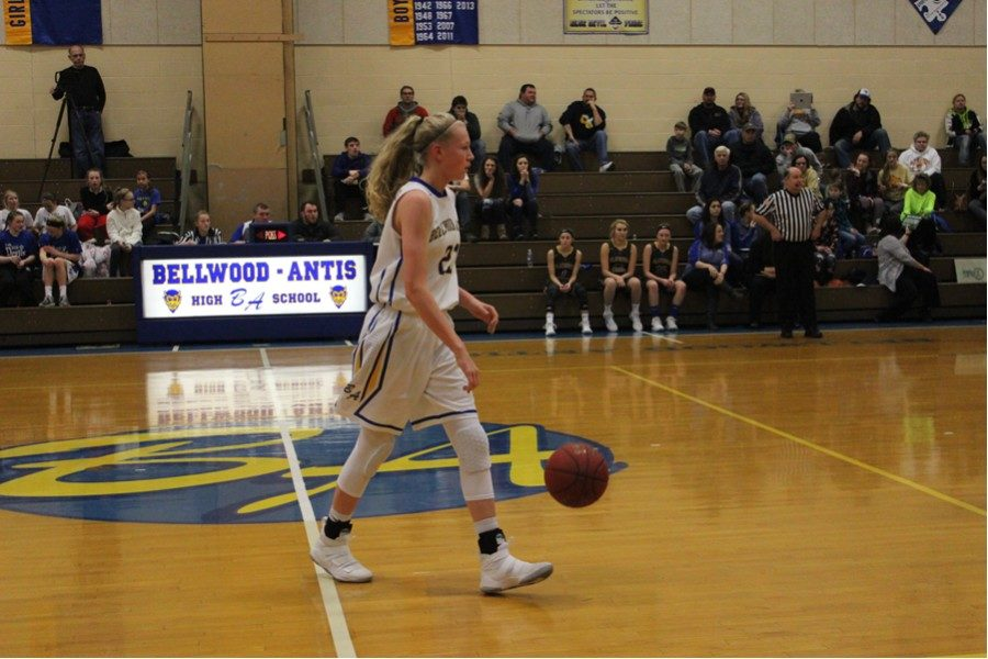 Alli Campbell has a chance to reach 1,000 points faster than any player in B-A history tonight at home against Mount Union.