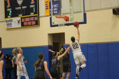 Lady Blue Devils dominate ailing Bulldogs