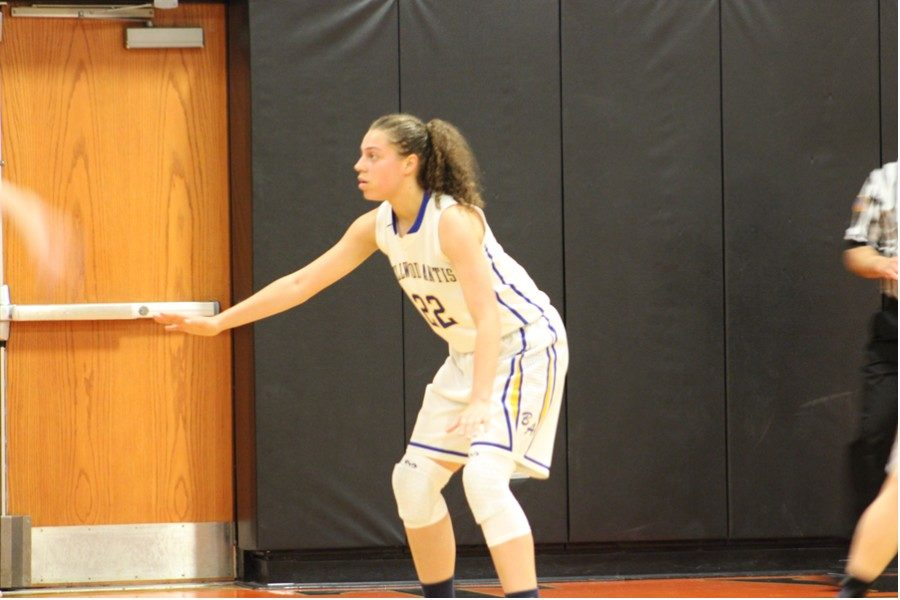 Sakeria Haralson posted her eighth double-double against Glendale.
