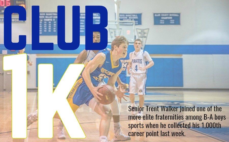 Trent Walker is now among the best scorers in B-A history.