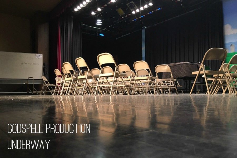 Ms.+Hull+and+the+Music+Department+are+preparing+to+perform+Godspell+in+April.