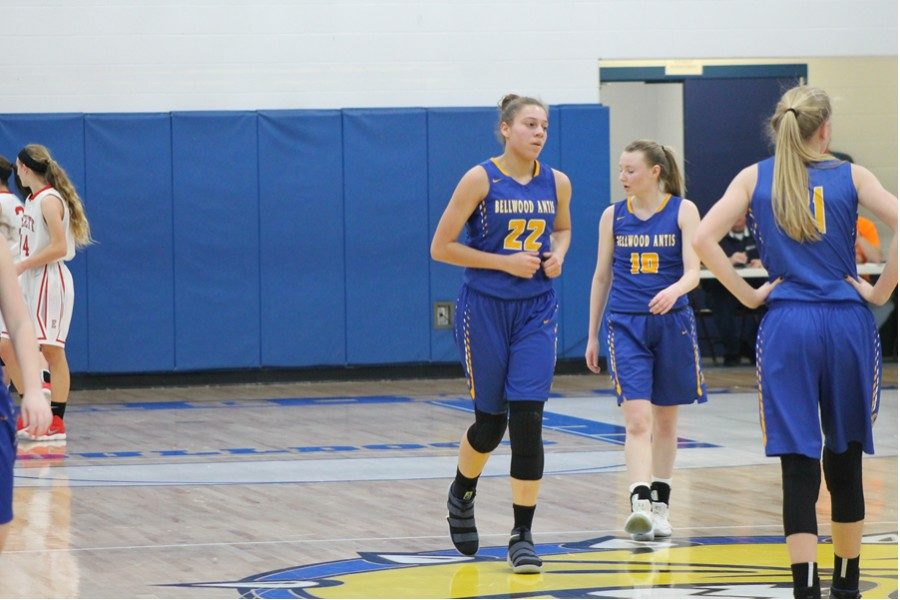 Sophomore Sakeria Haralson has given B-A an inside presence during its 22-2 campaign.