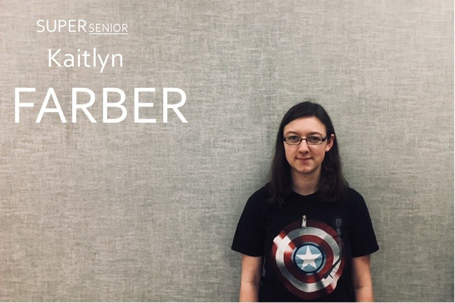 Kaitlyn Farber seems quiet until you get to know her.