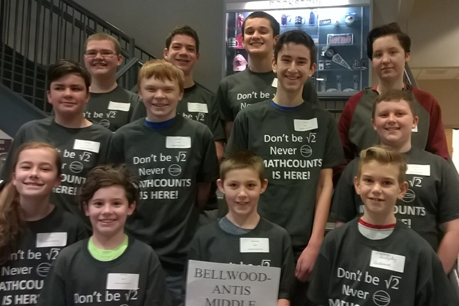 The B-A Mathcounts team placed second at its most recent competition.