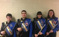 Four B-A musicians play at Region band