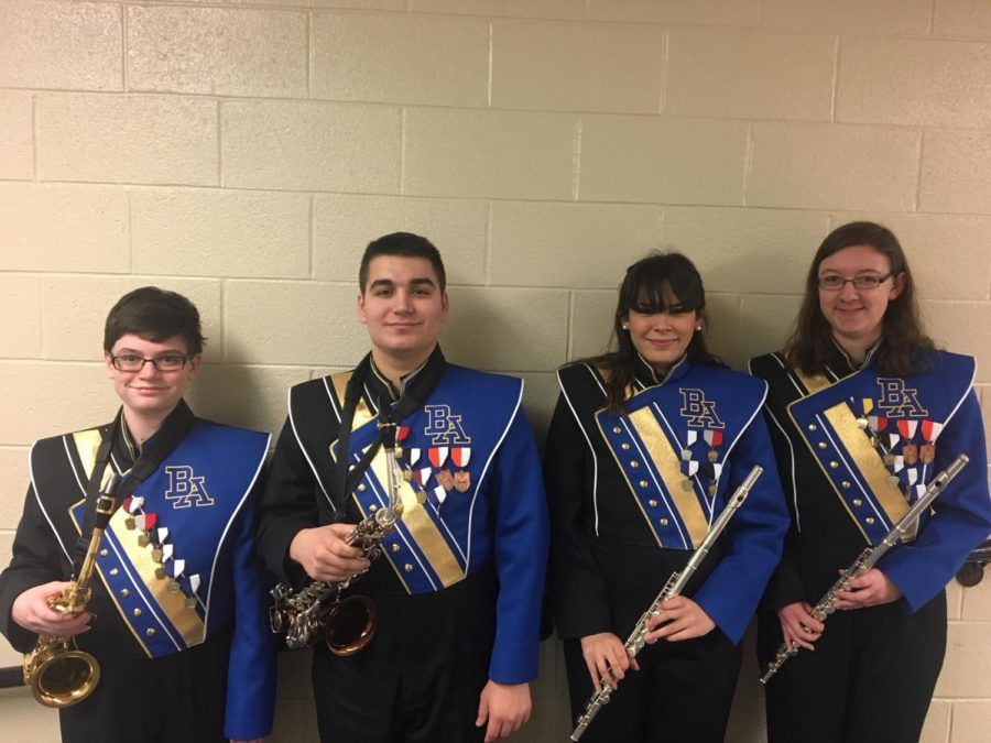 Alex+Foose%2C+Dominic+Tornatore%2C+Alanna+Vaglica%2C+and+Kaitlyn+Farber+played+last+weekend+at+Region+band.