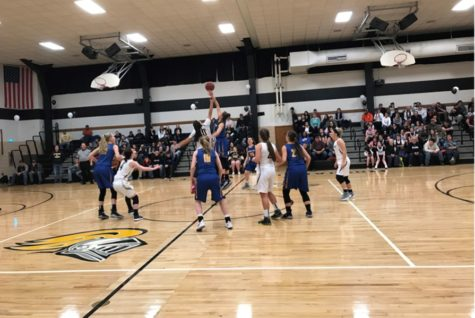 Lady Blue Devils round out regular season over Lady Trojans