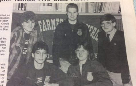 Mr. Mackereth was leading FFA members to unparalleled success in 1989.