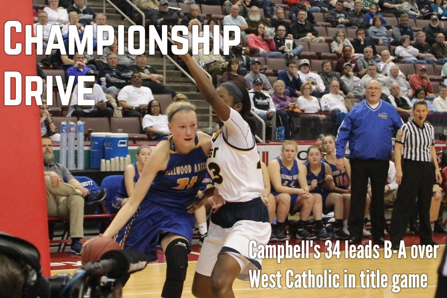 Alli Campbell scored 24 of her 34 in the second half to lead the Lady Devils to their first state championship.