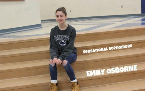 SENSATIONAL SOPHOMORE: Emily Osborne