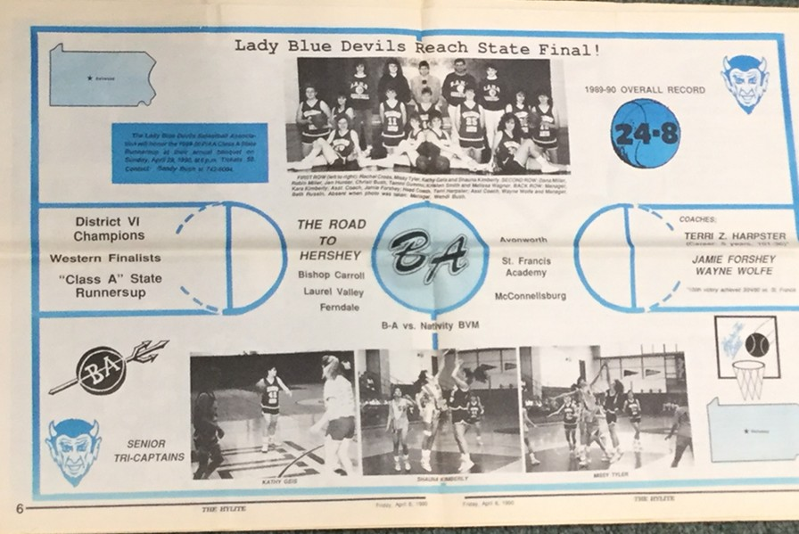 The Lady Blue Devils of 1990 made history.