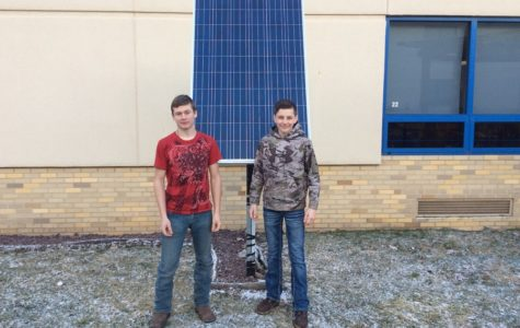 Middle school students work on perfecting solar energy