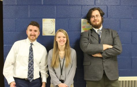 B-A says goodbye to three student teachers
