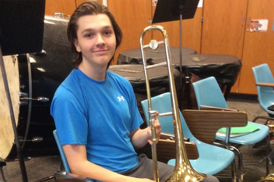 Ben+Eamigh+has+grown+into+a+dedicated+musician.
