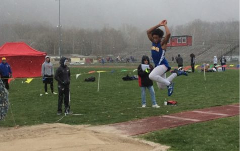 BA track boys sweep, girls split