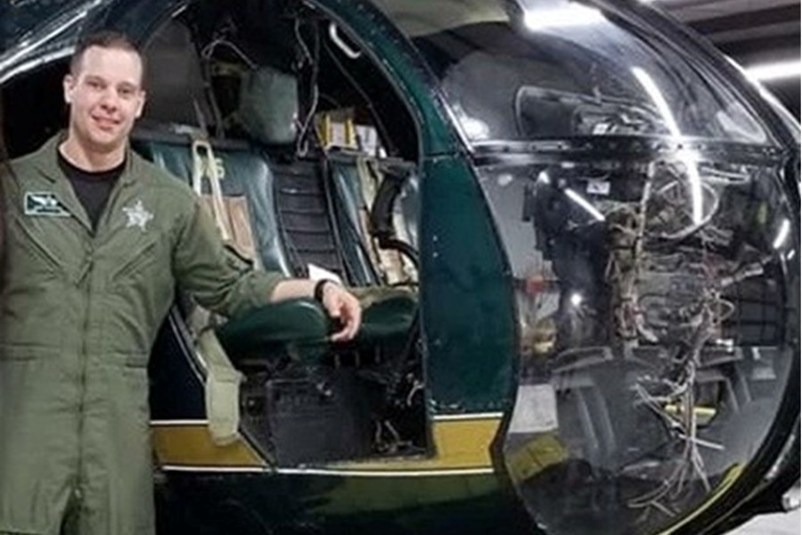 B-A grad Cory DeArmitt is currently a helicopter pilot for the Citrus County Sheriff's Office in Florida.