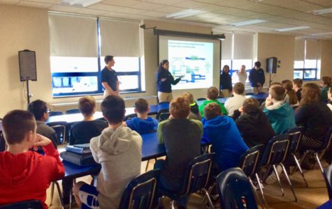 Penn State Engineering Students Visit the Middle School