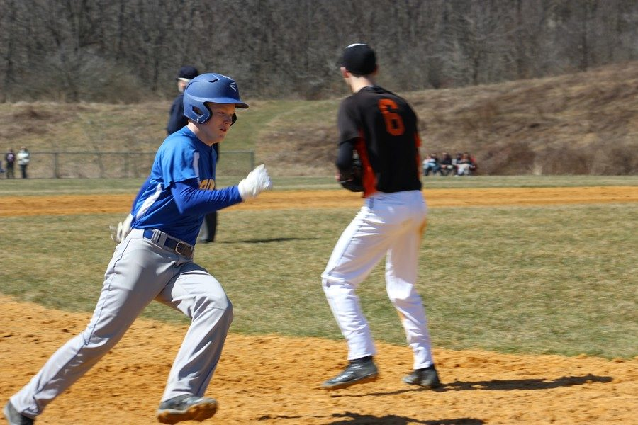 Nick Plank went 4-for-4 with a homer against P-O.